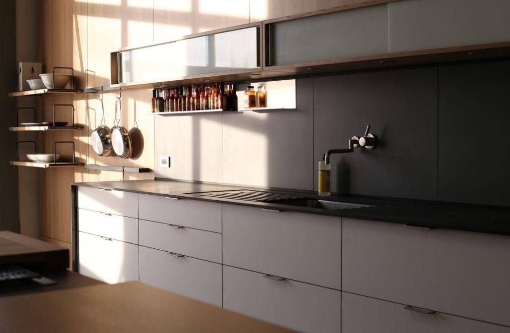 طرح چیدمان کابینت آشپزخانه