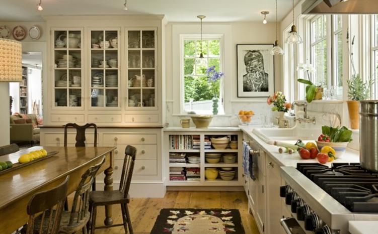 8 عنصر از یک آشپزخانه مزرعه ای