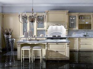ویژگی آشپزخانه کلاسیک